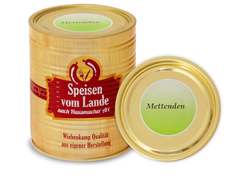 5 Mettenden(Kohlwurst), 850 g