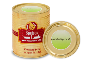 Grünkohlgericht, 850 g